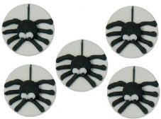 Spiders Sugar Decorations